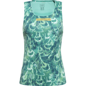 GORE RUNNING WEAR AIR PRINT Tri Top Singlet Dames, turquoise